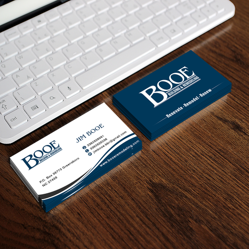 BOOE Business Card