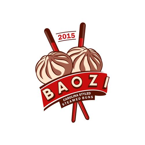 Baozi Logo Design