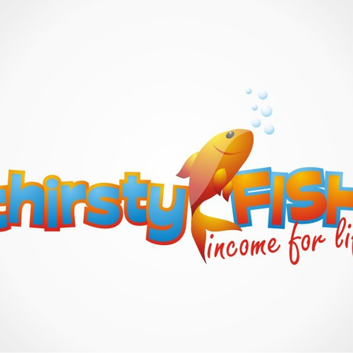 ThirstyFish Logo Design