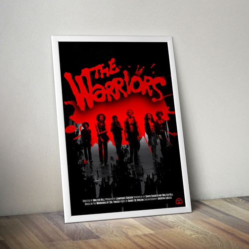 Movie poster retro