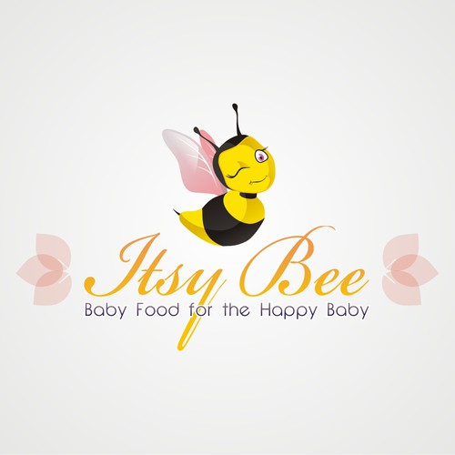 Itsy Bee needs a new logo and business card