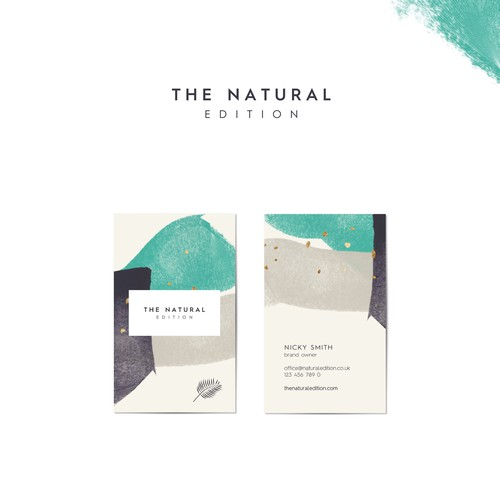 Brand Concept for The Natural Edition
