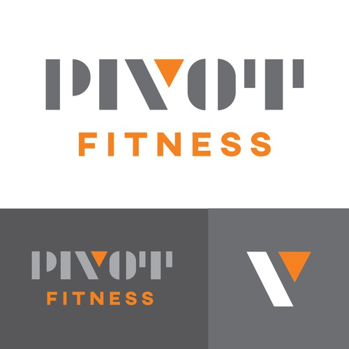 Logo concept for fitness center
