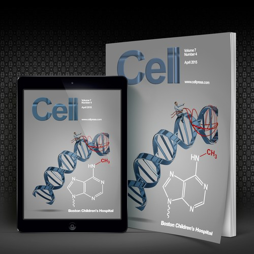 Submit a cover design to be published in the scientific journal Cell
