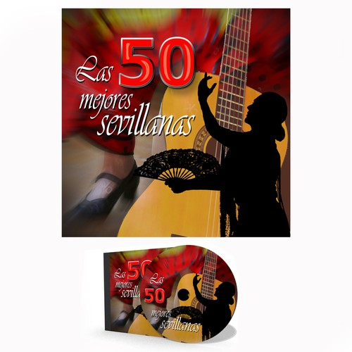CD cover for Sevillanas