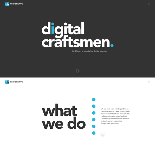 Web Design for Port one five