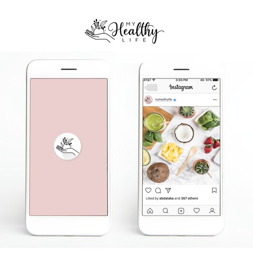 A healthy lifestyle platform which expresses ease and joy