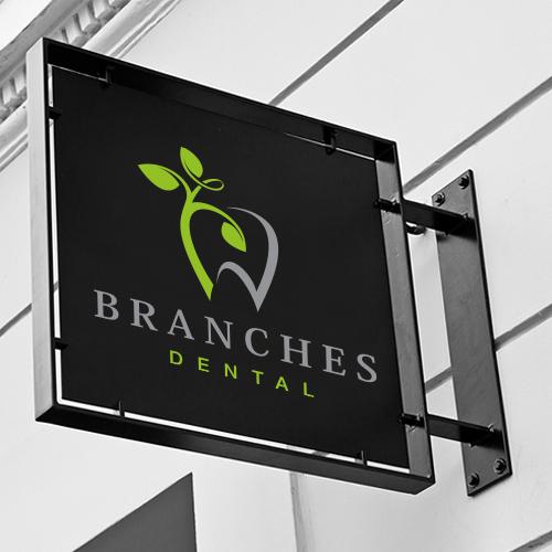 Private practice dental office logo