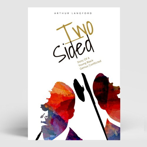 Book cover concept 2 - Two Sided