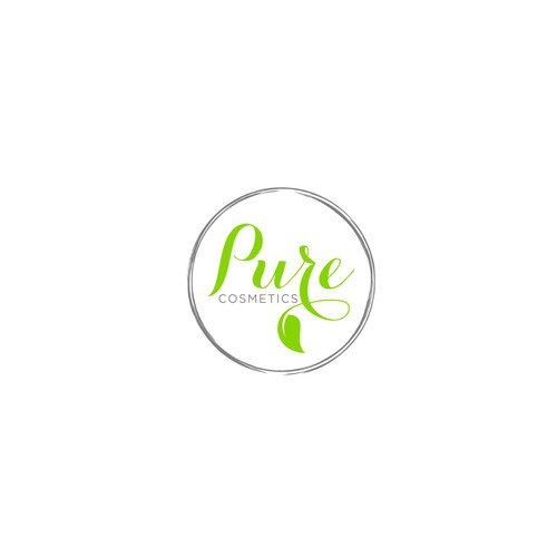 Clean logo for a cosmetic product line