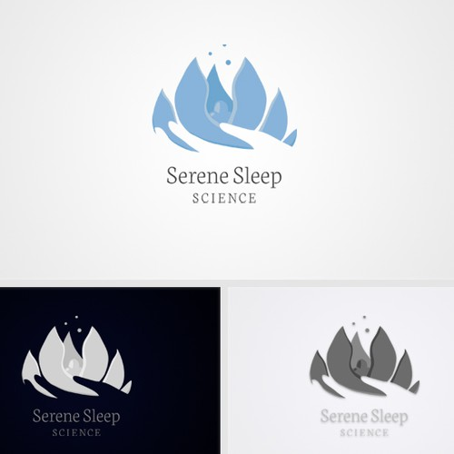 Logo for Serene Sleep Science
