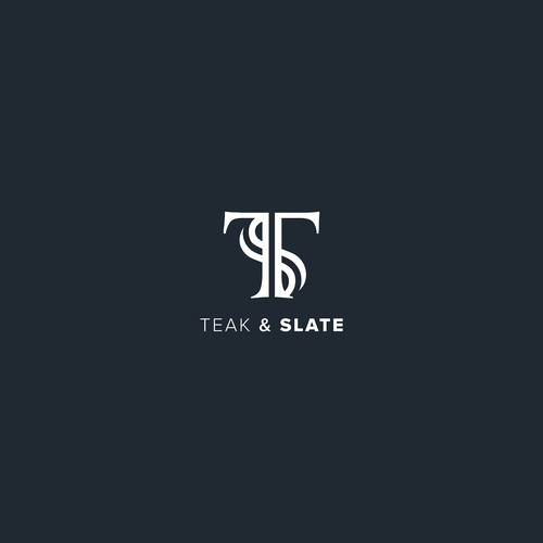 Logo for home and kitchen Teak and Slate