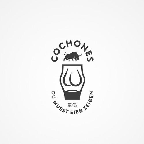 Logokonzept für Likör
