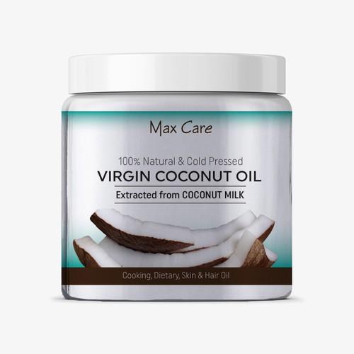 coconut oil packaging