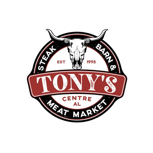 Logo for restaurant and meat market