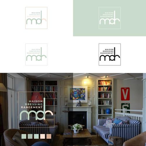Concept de logo pour une entreprise d'ameublement