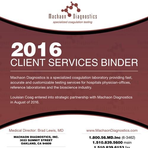 Machaon Diagnostics Binder Cover