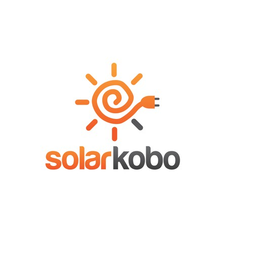 Create a logo for a solar energy company that will find its way to millions of homes