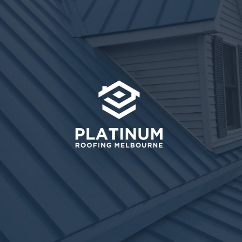 ROOFING LOGO FOR THE PLATINUM TEAM