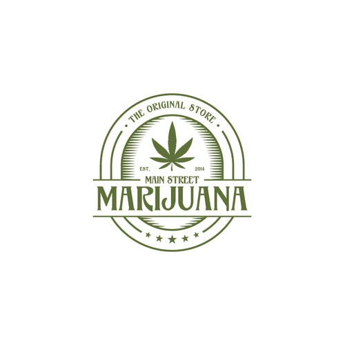 Logo Concept for Mainstreet Marijuana