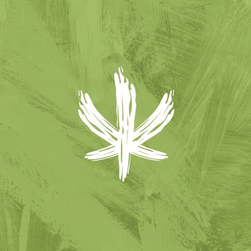 Abstract Logo Design for Cannavas, art inspired by Cannabis