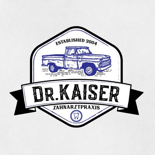 logo concept for dr kaiser