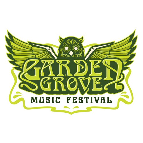 Music Festival Logo Design