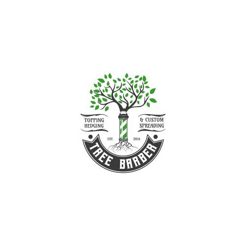 New logo for Tree Barber