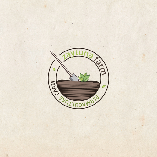 Logo for Permaculture based educational farm