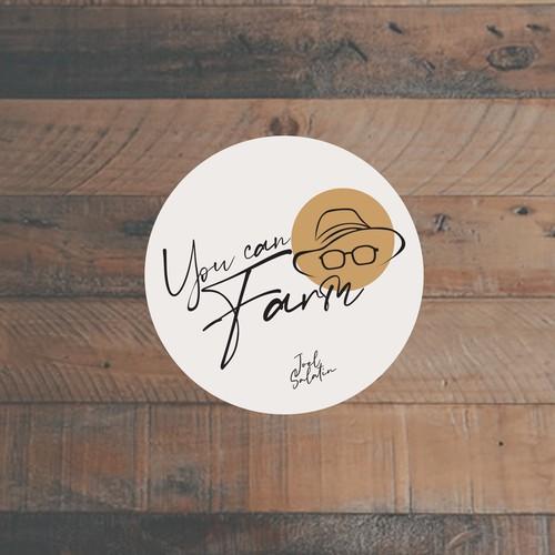 Farming Sticker Design