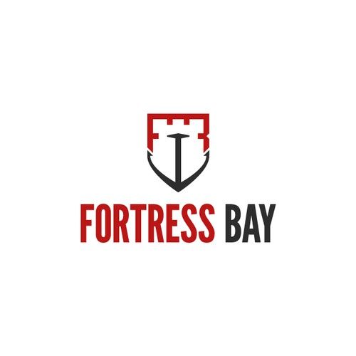 Logo Design for protective gear company Fortress Bay
