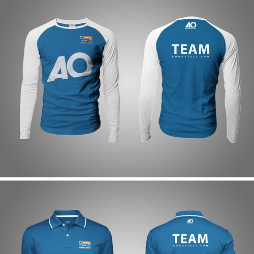 Polo T-shirt And Long Sleeve Design