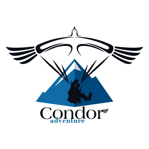 Adventurous Paragliding Logo