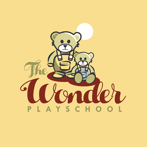 Wonder playschool logo