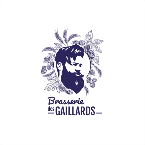 Logo pour la brasserie des Gaillards