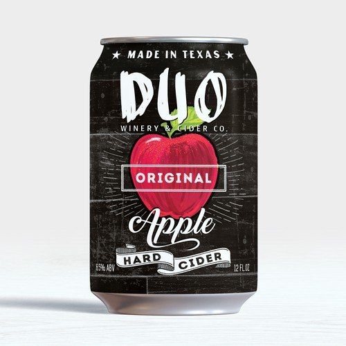 Hard CIder Canned Alcoholic drink