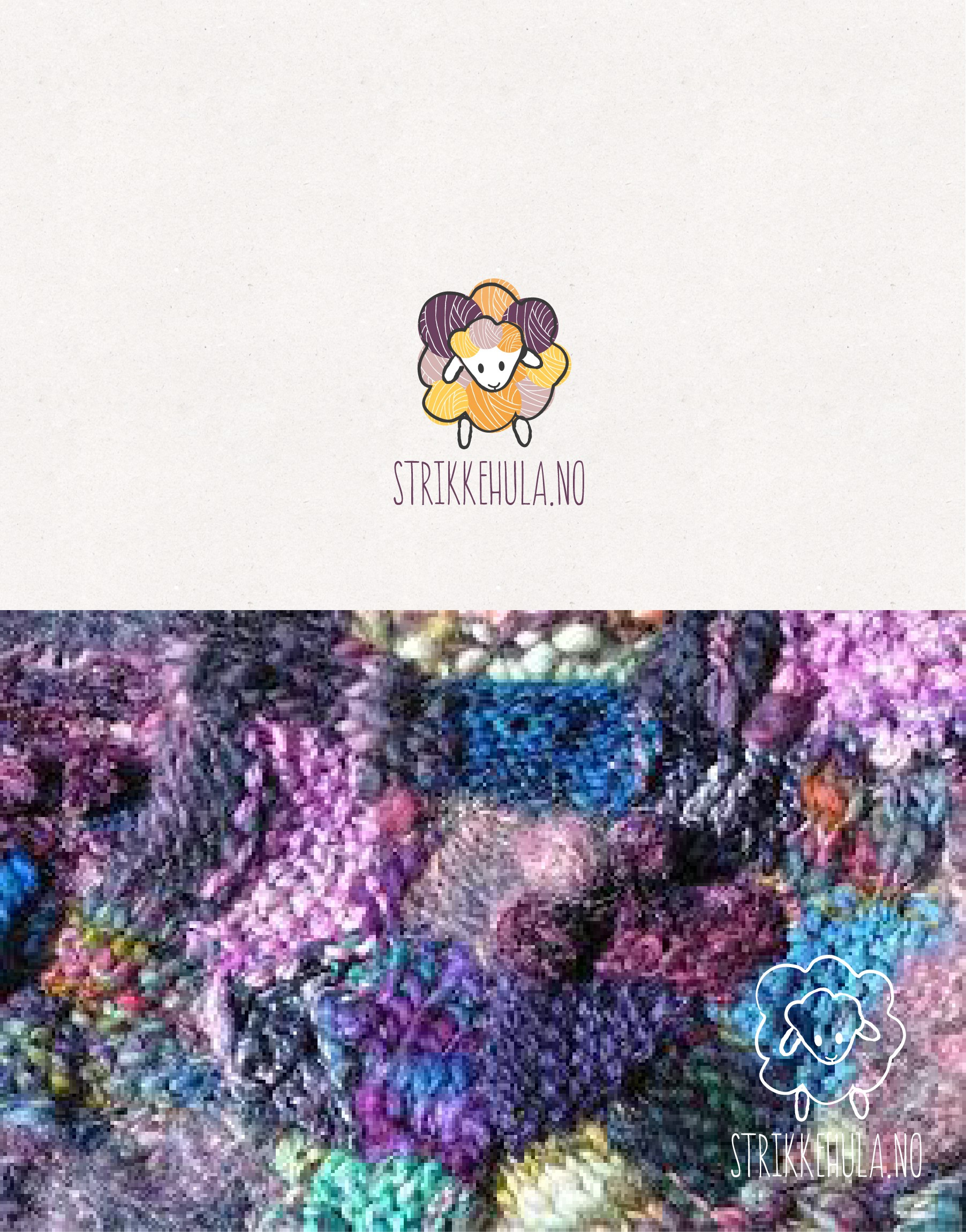 Design the perfect logo for our knitting webshop