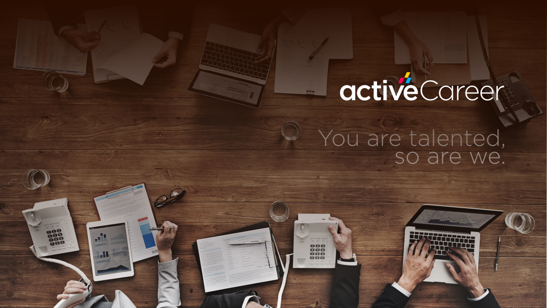 Create logo and social covers of ActiveCareer