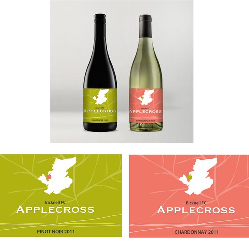 Simple yet standout wine label wanted for Applecross