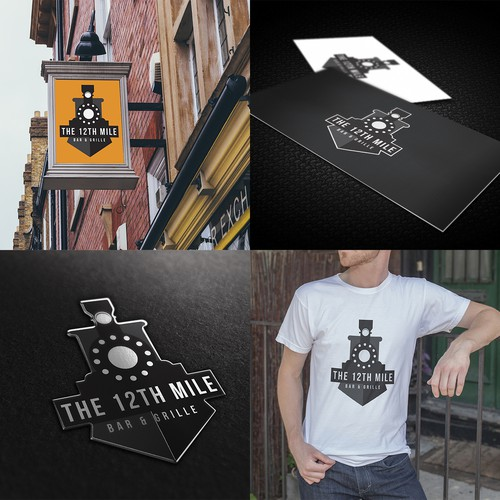 Logo For The 12th Mile Bar & Grille