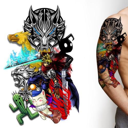 Final Fantasy Lover Tattoo