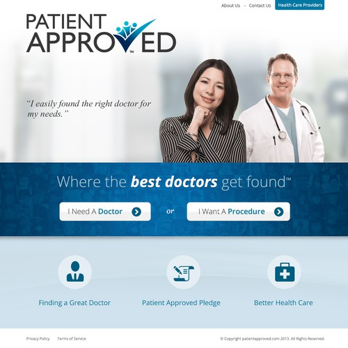 Help Patient Approved with a new website design