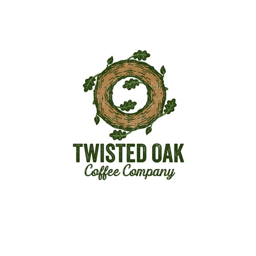 Twisted Oak Coffee Logo