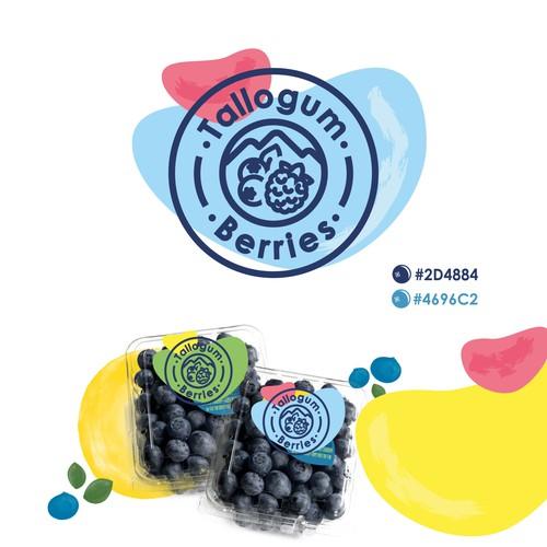 Farm fresh berry logo