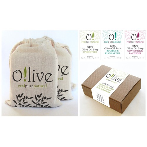 Help Olive Natural Body product with a new packaging or label design