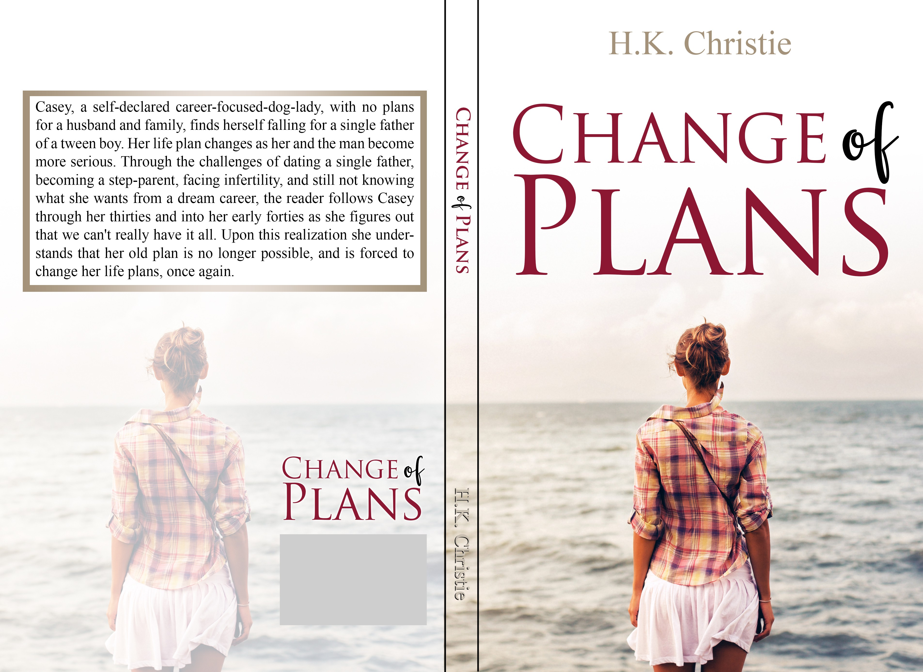 Design for a Women's Contemporary Fiction - Book 3 of series