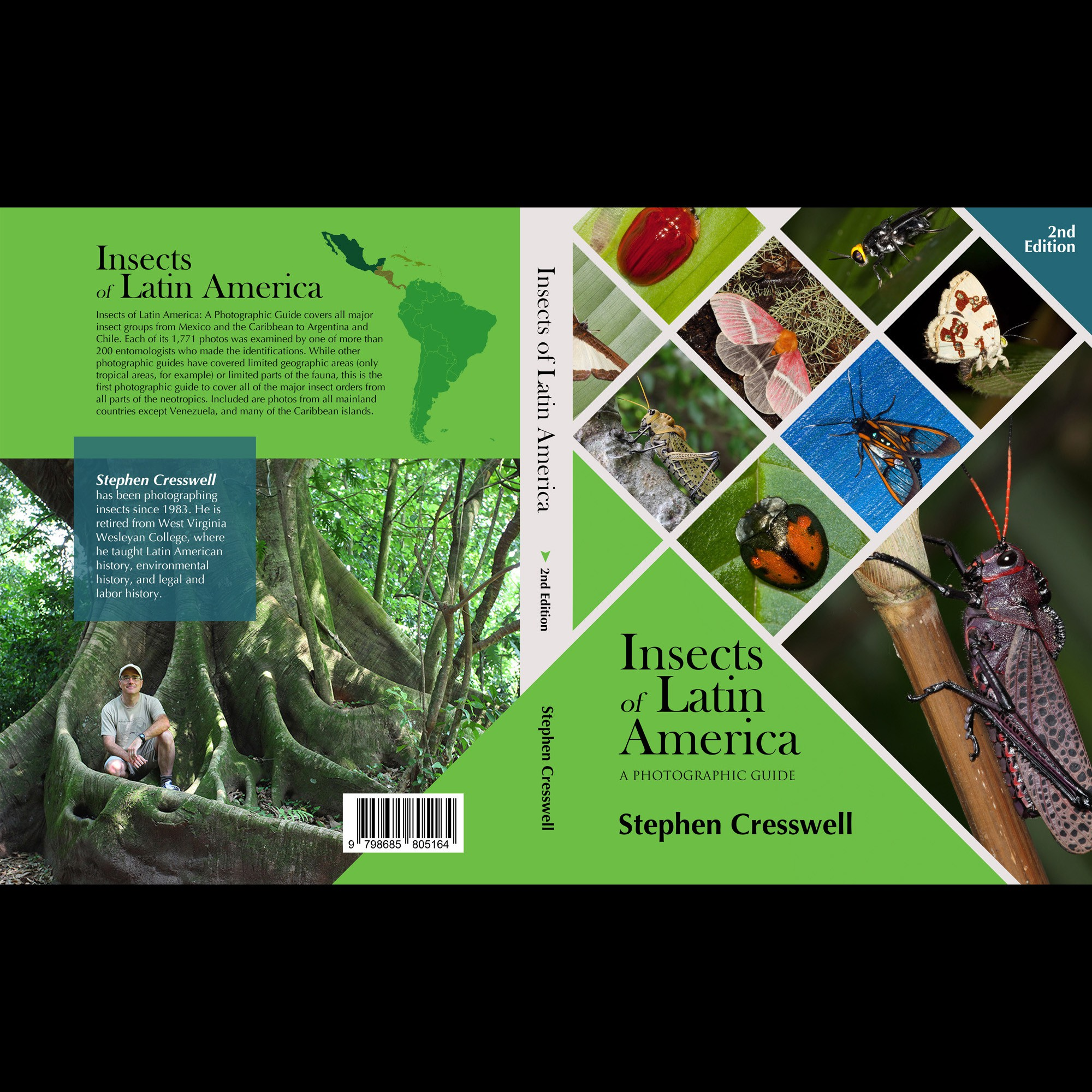 Book cover for Insects of Latin America: A photographic Guide