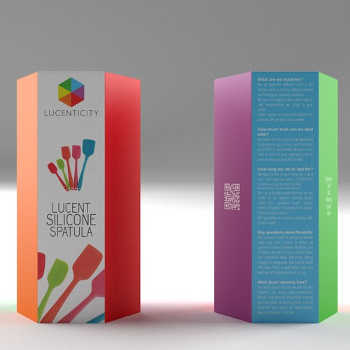 Package Design for Silicone Spatulas