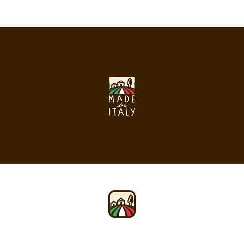 Logo for Made in Italy, in London
