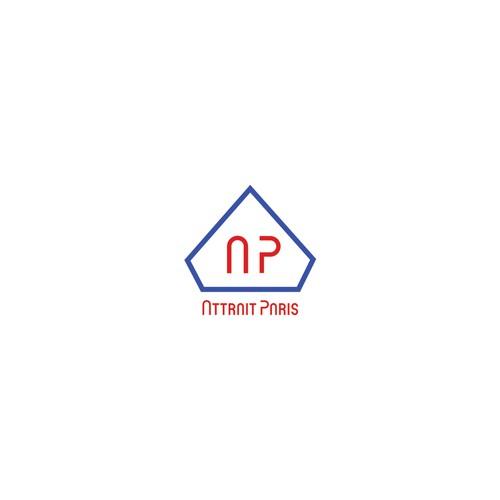 "Logo for the Parisian brand of outwear ""Attrait Paris"""